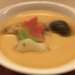 小山 - 松茸の茶碗蒸し