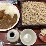 そば処きぬ - ミニカレーセット 1,000円