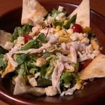 地鶏個室 中條 - チキンコブサラダ