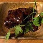地鶏個室 中條 - 鶏レバー赤ワイン煮