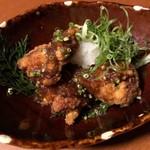 地鶏個室 中條 - おろしポン酢唐揚げ