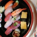 松栄鮨 - 料理写真:ランチ  にぎり1.5