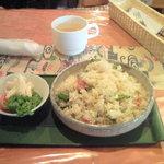 931891 - ランチのゴーヤ炒飯