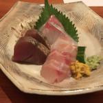 稲庭うどん 鴇 - 料理写真:お刺身