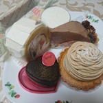 ジュリエットラブケーキ - 料理写真:ケーキ 6種類