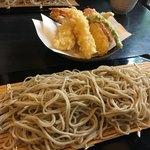 いし塚 - 天ぷら蕎麦大盛り