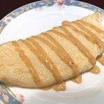 ホテルクラビーサッポロ - 料理写真:プレーンオムレツ うにソース アップ