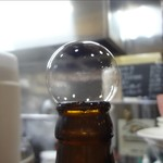 餃子屋麺壱番館 - 中瓶ビール(泡)
