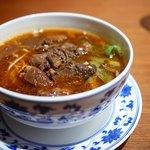 老四川 飄香小院 - 牛肉麺