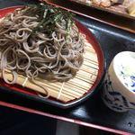 魚康 - 〆のざる蕎麦