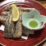 魚康 - めかりの天ぷら