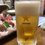 魚康 - 生ビール