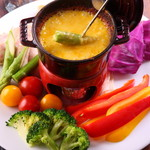 サルベロ - カボチャのチーズフォンデュ