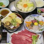 新城観光ホテル - 料理写真:鳳来牛懐石