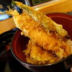 食事処 寿 - Cランチのチップ天丼
