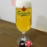 ビストロ フジノ - 最初はビールで♡