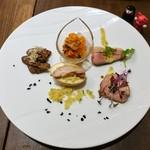 ビストロ フジノ - 前菜の盛り合わせ