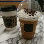 日比谷焙煎珈琲 - フローズンコーヒーとホットコーヒー