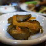 93116225 - 胡瓜と大根の味噌漬け