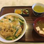 水舟 - カツ丼750円
