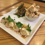 オットー チェルボ - おばんざい2種とカルパッチョ