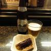 直寿司 - 料理写真:瓶ビールとお通し