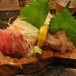 直寿司 - 刺身盛合せ