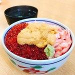海鮮や よし丼 - 北海丼!美味d(^_^o)