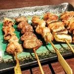 Torisei - 焼鳥5本セット(塩)
