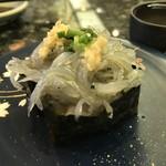 グルメ廻転寿司 まぐろ問屋  三浦三崎港 - 生シラス