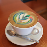 CAFFE SCIMMIA ROSSO - レインボー・フレーバー・カフェラテ キャラメル☆