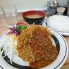 洋庖丁 - 料理写真:メンチカツセット