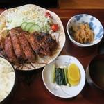 暖 - ・「生姜焼き定食(\1500)」