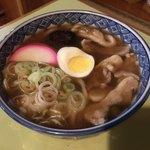 皿谷食堂 - 肉うどん ¥750