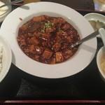 四川料理 川香苑 - 麻婆豆腐ランチ