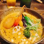 Rojiura Curry SAMURAI. 平岸総本店 - 「侍. まつり 」野菜13品目がベースです♪