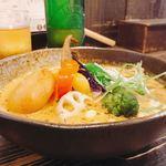 Rojiura Curry SAMURAI. - チーズいももちをトッピング