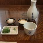 寿楽庵 - 皿そば薬味