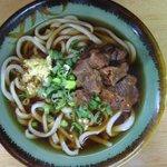 正ちゃんうどん - 料理写真:肉うどん(写真の肉は娘用に少なめですが、実際は倍♪)
