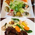そうりの食卓 - 料理写真:ランチ・前菜とメイン