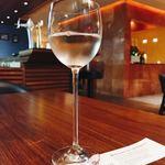 プレミアホテル-ツバキ- - ドリンク写真:ウェルカムドリンクの白ワイン☆
