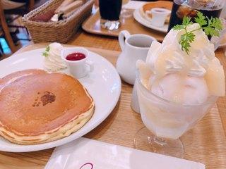 キャンベル・アーリー - 本日のミニパフェパンケーキセット