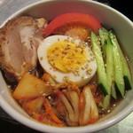 ジンギスカン羊羊亭 - 〆には冷麺をチョイス