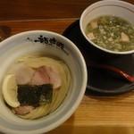 京都 龍旗信 - 塩つけ麺