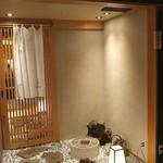 日本料理 銀座 一 - 地下2階の入口