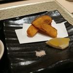 日本料理 銀座 一 - 松茸ふらい