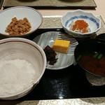 日本料理 銀座 一 - ごはんと愉快な仲間たち