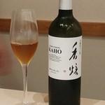 日本料理 銀座 一 - 茶師10段・山口さん監修の玉露ほうじ茶