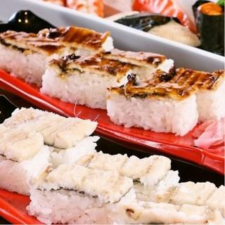 【姫路にきたらこれ!】アナゴを使用したお寿司も魅力の一つ