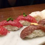 93147532 - 馬肉肉寿司